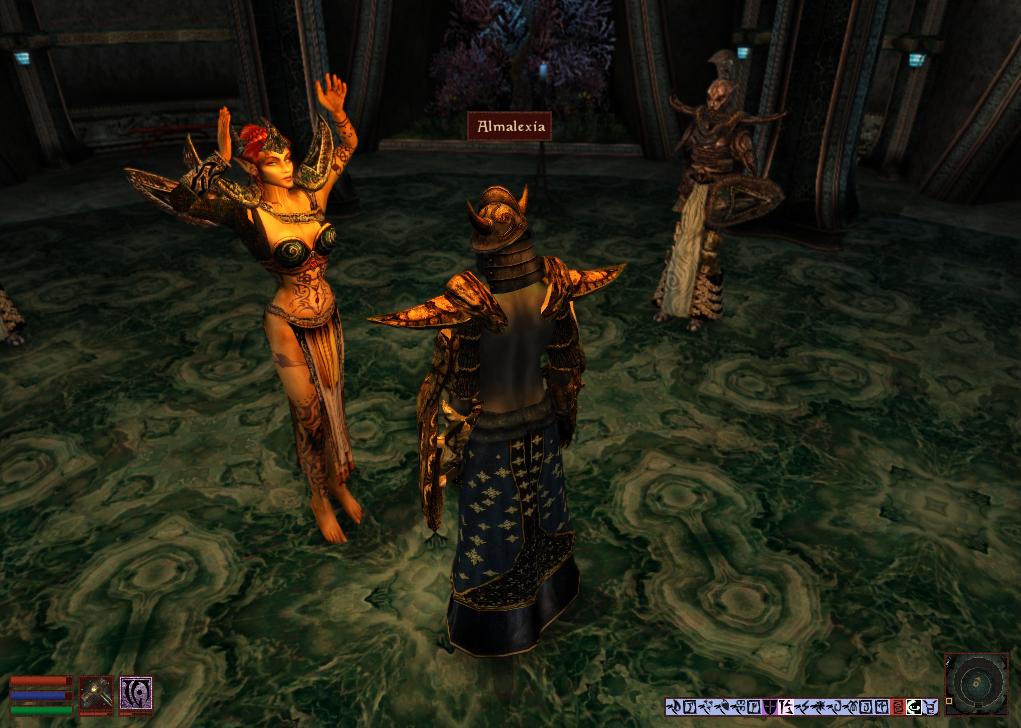 Morrowind piss on people mod